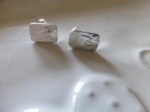 Rectangular embossed studs